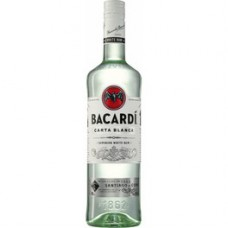 Ром белый Bacardi Blanco (Бакарди белый)  1 литр