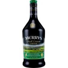 Ликер Merrys Irish Cream 1л 17%
