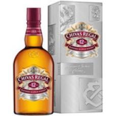 Виски Чивас Ригал 12 лет (Chivas Regal 12 yo) 1 литр